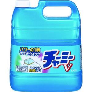 濃縮中性洗剤 チャーミーV 4L 7-1235-0502 洗剤(キッチン用) (TKG17-1235)|shokki-pro