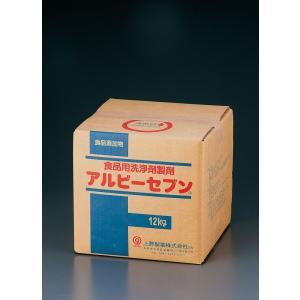 食品添加物食品用洗剤アルビーセブン  12kg 7-1235-1201 洗剤(キッチン用) (TKG17-1235)|shokki-pro