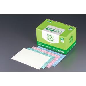 クレシア抗菌カウンタークロス 薄手タイプ (1箱・100枚入)ホワイト 7-1247-0401 ふきん (TKG17-1247)|shokki-pro
