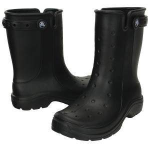 crocs クロックス レニー2.0ブーツ16010 ブラック22cm 7-1366-0901 長靴|shokki-pro