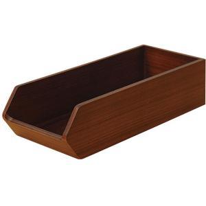 木製カトラリートレー CT-01DB 7-1732-1903 カトラリーボックス|shokki-pro