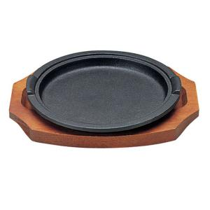 アサヒ ステーキ皿 A-129 炉端 7-1736-0501 ステーキ皿|shokki-pro