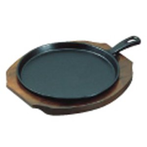 アサヒ 柄付ファミリーパン A-118 小 7-1736-0702 ステーキ皿|shokki-pro