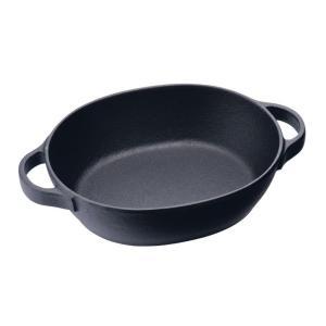 クックトップ シチューパン オーバル CT-11 鍋 7-1738-1601 鉄鍋|shokki-pro