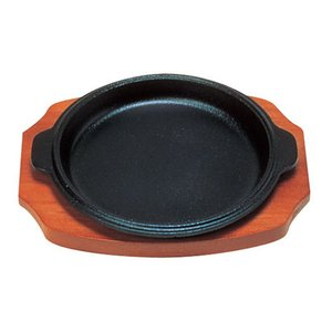 (S)ステーキ皿 渕付丸型 B  15cm 7-1739-0201 ステーキ皿|shokki-pro