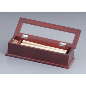 木製 はし箱(楊枝入付)SB-604 7-1893-0801 楊枝入・立 (TKG17-1893)|shokki-pro