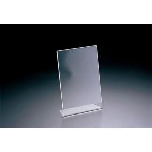 アクリル サインホルダー 片面用 69201 名刺サイズ縦 (TKG17-1929)|shokki-pro