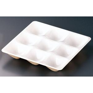 カプセルボックス 一枚仕切 真珠色(しんじゅいろ) 7-2066-0202 弁当容器 shokki-pro
