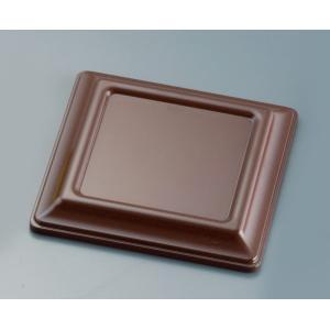 カプセルボックス 蓋  海老茶(えびちゃ) 7-2066-0303 弁当容器 shokki-pro
