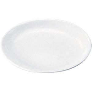 高強度磁器 ホワイト  WH-0206パン皿 7-2344-0301 給食用食器 shokki-pro