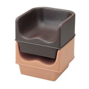 CAMBRO キャンブロ ブースターシート 100BC コーヒーベージュ 7-2390-0702 チェア shokki-pro