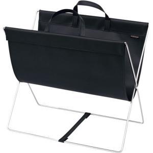 セルフワゴン・レザー調PVC R-357 ブラック 7-2403-0601 サイドワゴン(手荷物入れ)|shokki-pro