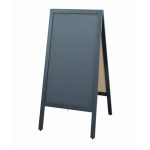 スタンド黒板 和風タイプ  TBD70-2 7-2429-0202 メニュースタンド shokki-pro