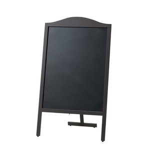 マーカー用木製スタンド黒板 山型 YBD90-1 7-2429-0301 メニュースタンド shokki-pro