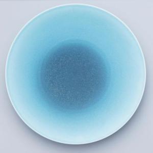 [noritake17-21] オリッジ 28cmクーププレート(水) 94921/10-588|shokki-pro
