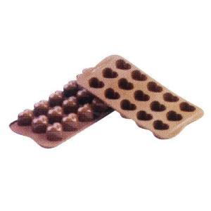 siliko mart シリコマート チョコレートモルド モナムールSCG01  チョコレートモルド|shokki-pro