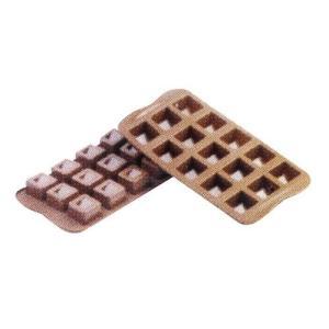 siliko mart シリコマート チョコレートモルド キューボSCG02  チョコレートモルド|shokki-pro