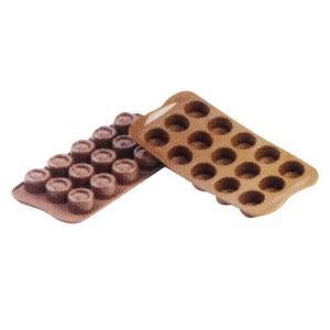 siliko mart シリコマート チョコレートモルド ヴェルティゴSCG04  チョコレートモルド|shokki-pro