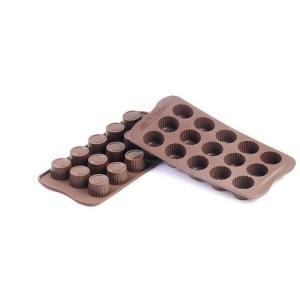 siliko mart シリコマート チョコレートモルド プラリネSCG07  チョコレートモルド|shokki-pro