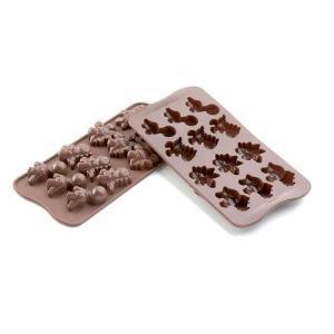 siliko mart シリコマート チョコレートモルド ディノSCG16  チョコレートモルド|shokki-pro