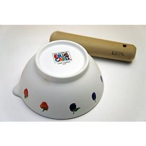はらぺこあおむし子ども食器◆すり鉢(すり棒付き)|shokki|03