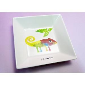 《在庫限り》レオ・レオニの食器◆11.5cm角皿『じぶんだけのいろ』|shokki