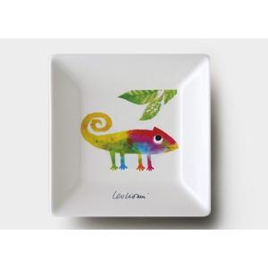 《在庫限り》レオ・レオニの食器◆11.5cm角皿『じぶんだけのいろ』|shokki|02