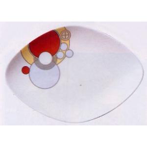 菱形ケーキ皿◆フランク・ロイド・ライト デザイン テーブルウェア(ノリタケT97248/4614)|shokki