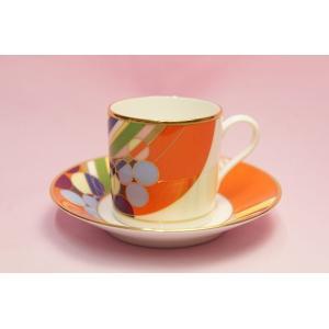 コーヒー碗皿◆マーチバルーンズ【フランク・ロイド・ライト デザイン テーブルウェア】(ノリタケ)|shokki