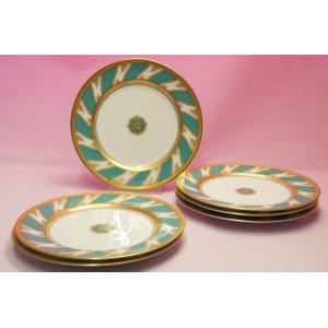 ノリタケ・ダイヤモンドコレクション #5730 ロイヤルファミリー ケーキ皿6枚セット shokki