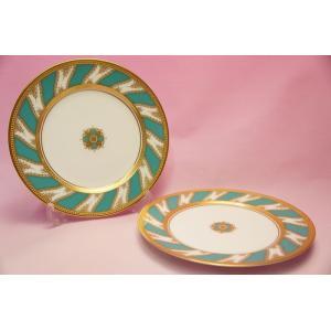 ノリタケ・ダイヤモンドコレクション #5730 ロイヤルファミリー ケーキ皿2枚セット|shokki