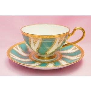 ノリタケ・ダイヤモンドコレクション #5730 ロイヤルファミリー 碗皿|shokki