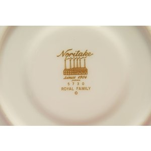 ノリタケ・ダイヤモンドコレクション #5730 ロイヤルファミリー 碗皿 shokki 04