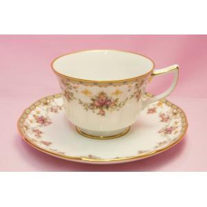 ノリタケ・ダイヤモンドコレクション #5539 ローズパレス ティー・コーヒー碗皿|shokki
