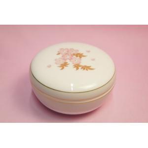 大倉陶園 しだれ桜 蓋物(ボンボニエール)|shokki