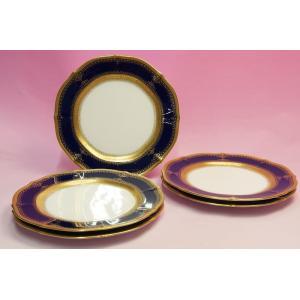ノリタケ・ダイヤモンドコレクション #5535 イナギュレーション ケーキ皿5枚セット|shokki