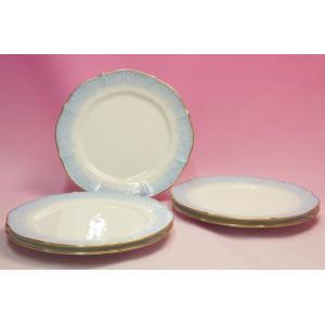 ノリタケ・ダイヤモンドコレクション #5538 フラワーインドリーム ケーキ皿5枚セット|shokki