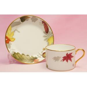 大倉陶園 紅葉 碗皿|shokki