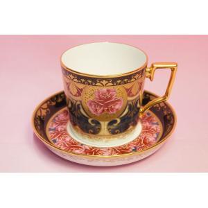 ノリタケ オマージュコレクション 色絵薔薇文 コーヒー碗皿|shokki
