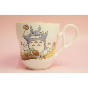 となりのトトロ マグカップ(収穫)◆ノリタケボーンチャイナ・TT97855/4924-3|shokki