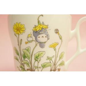 となりのトトロ マグカップ(花帽子)◆ノリタケボーンチャイナ・TT97855/4924-7|shokki|02