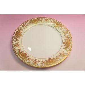 #175 WHITE&GOLD 27cmディナー皿|shokki