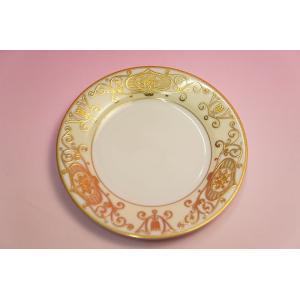 #175 WHITE&GOLD 16cmパン皿|shokki