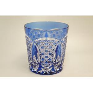 BLUE ロックグラス shokki