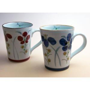 藍草花〔あいそうか〕マグカップ|shokki