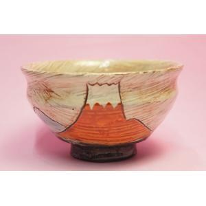 赤富士 飯碗|shokki