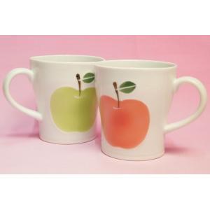 高台りんご マグカップ|shokki