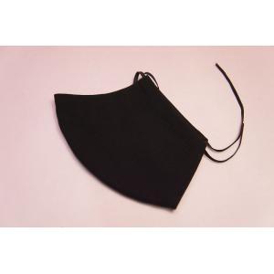 接触冷感 夏用クールマスク 黒|shokki|03