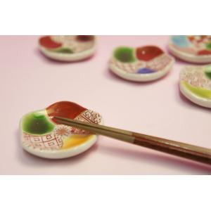 古紋梅 花型箸置き揃|shokki|02