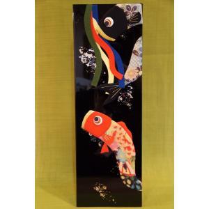 金箔板絵図 鯉のぼり|shokki